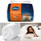 New Luxury Silentnight Warm & Cosy Duvet Quilt - 13.5 Tog - Double and King