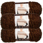 3 Lion Brand Homespun Thick & Quick Acrylic Yarn Super Bulky #6 Knit Skeins Soft