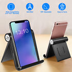 Universal Desk Phone Stand Holder Cradle For iPhone Samsung Cell Phone Tablet