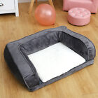 Extra Large Washable Pet Sofa Chair Bed Dog Mattress Basket Sleeping Beds Velvet