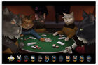 Laminated Star Trek Cats Playing Poker Official Poster New on eBay