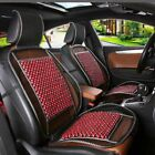 Natural Wood Beads Car Seat Cover Auto & Home Chair Mat Mesh Massage Multi-use