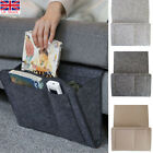 Bedside Storage Caddy Hanging Bag Felt Sofa Organizer Pocket Book Holder Home UK