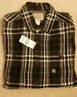 Roebuck & Co Young Mens Work Wear Flannel Shirt Size S 100% Cotton NEW