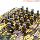 US SELLER** 21pcs CUSTOM Army Soldier Minifigures and Weapons Lego