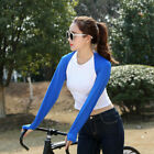 Unisex Women Shawl Arm Sleeves Breathable Cuff Gloves for Golf Cycling Climbing