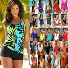 Women's Push-Up Plus Size Tankini Bikini Set One Piece Swimsuit Bathing Monokini $10.22 USD on eBay