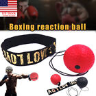 Kyпить US Boxing Training Fight Ball Reflex Speed Reaction Punch Combat Muscle Exercise на еВаy.соm