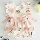 Fashion Sweet Newborn Baby Girl Deer Romper Bodysuit Jumpsuit Clothes Outfits UK <br/> ❤FASHION STYLE❤UK STOCK❤HIGH QUALITY❤GOOD GIFT
