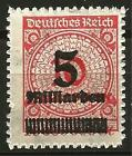 Germany Weimar Republic 1923 MNH - Single High Inflation Definitives/Officials
