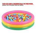 Summer Inflatable Portable Kiddie Pool Three-ring Ball Pool Kids Water Play Fun $20.51 USD on eBay