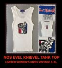 VTG 90s Evel Knievel Ideal Stunt Harley Davidson #1 Motorcycle Tank Top T-shirt $28.8 USD on eBay