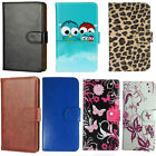 Slim Premium Mobile Phone Flip Case - Momola Fashion 5.0 inch - 360 PU Leather M