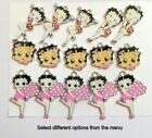 Betty Boop 15 Enamel Charms 5 each of 3 different designs Jewellery making Craft £5.99 GBP on eBay