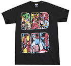 MARVEL COMICS RAD DAD T-SHIRT MENS SUPERHERO MOVIE TEE ADULT BLACK image