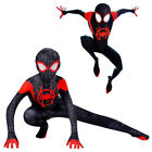 Kyпить Miles Morales Spider-Man:Into the Spider-Verse Kids Costume Cosplay Suit Cool на еВаy.соm
