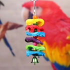 Bird Parrot Swing Cage Hanging Chew Toys Cockatiel Budgie Wood Stand Perches Lot