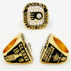 1975 PHILADELPHIA FLYERS Stanley Cup Championship Ring 18k HEAVY GOLD PLATED USA $29.95 USD on eBay