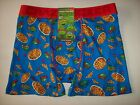Crazy Boxer Underwear Mens Boxer Briefs 1 Pr Graphic S M L XL TMNT Pizza New