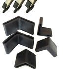 Внешний вид - Black Rubber Corner Angle Feet Pipe Tubing End Cover Caps 25mm 30mm 35mm 40 50mm
