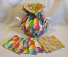 Small Easter Tea Cozy & Matching Coaster Sets - 2 to 4 cups