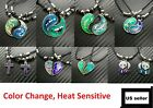 BEST FRIEND Mood Color Change Yin Yang 2 Pendants Necklace Set BFF Friendship US