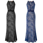 BP Sexy Women's Full-Length Lace Hips-Wrapped Bodycon Dress Evening Party Dress