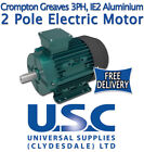 Crompton Greaves 2 Pole 2800 Rpm 3 Phase Electric Motor Aluminium Foot Mount Ie2
