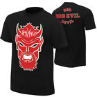 WWE THE UNDERTAKER RED DEVIL BIG EVIL T-SHIRT BLACK MENS RETRO WRESTLER TEE