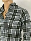 Armani Exchange Authentic Regular Fit Brushed Cotton Workshirt Gray NWT