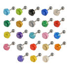 LEGO 1x1 Round Tragus Bar Cartilage Helix Piercing Ear Stud Hand Made
