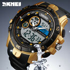 SKMEI Watch Alarm Mens Sport Watches Outdoor Dual Time 50m Waterproof Wristwatch image
