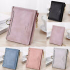 Women Short Small Money Purse Wallet Ladies Leather Folding Coin Card Holder NEW