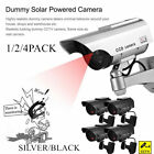 Waterproof Solar Power Fake Camera CCTV Realistic Dummy Security Cam Blinking