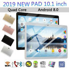 10.1 Inches Tablet Quad Core Android8.0 Dual Sim HD Camera IPS Screen GPS Wifi