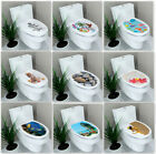 New 3d Toilet Seat Sticker Art Wallpaper Bathroom Decor Decal Vinyl Home Decors