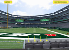 4 Front row Pittsburgh Steelers at New York Jets tickets section 149 row 1 on eBay