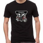 Triumph Bonneville Bonnie Motorcycle Superbikes Rider Cool T-Shirt TBV-0006 $26.99 AUD on eBay