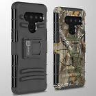 For LG V50 ThinQ Belt Clip Holster Heavy Duty Shockproof Phone Cover Hard Case