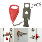 Portable Door Lock Hardware Safety Security Tool For Home /Travel Hotel Lock