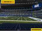 4 lower Level Denver Broncos at Indianapolis Colts tickets Section 137 row 12