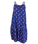 Ladies Ex M-S Strappy Summer Beach Dress Flamingo Print
