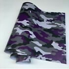 Camo Vinyl Wrap Sticker Decal Camouflage Emblem Car Bike Motorcycle Scooter New