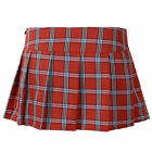 Sexy Women Lingerie Cosplay Role Play Pleated Mini Skirt Schoolgirl Short Dress
