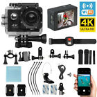 Full HD Action Camera Sport Camcorder Waterproof DVR 1080P 4K WiFi Remote Go