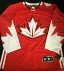 Mens Canada World Cup of Hockey Premier Jersey Adidas NHL Red Size Small 2XL