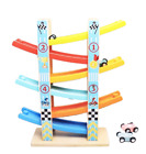 New Wooden Toys 4 and 6 Click Clack Race track, Car Run, Marble Run, Track Run