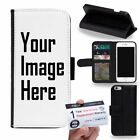 Customized Custom Made Personalized Photo DIY Picture PU Leather Flip Case Cover