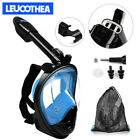 New Foldable Full Face Mask Swim Breath Diving Google Snorkel Scuba For GoPro US