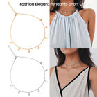 Women Girl Summer Gold Silver Plated Star Chain Choker Pendants Necklace Jewelry image